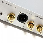 Calyx Audio - 24/192 DAC in silver, back view