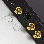 Calyx Audio - 24/192 DAC in black, back view