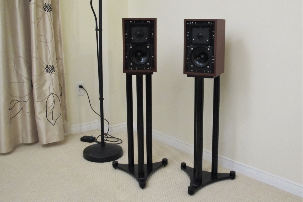 Audio Space BBC licensed LS-3/5A Monitor Speakers