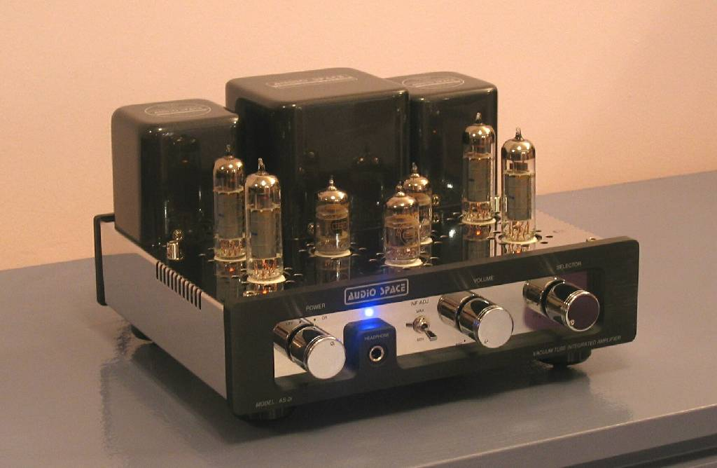 Audio Space AS-2i (EL84) Tube Integrated Amplifier