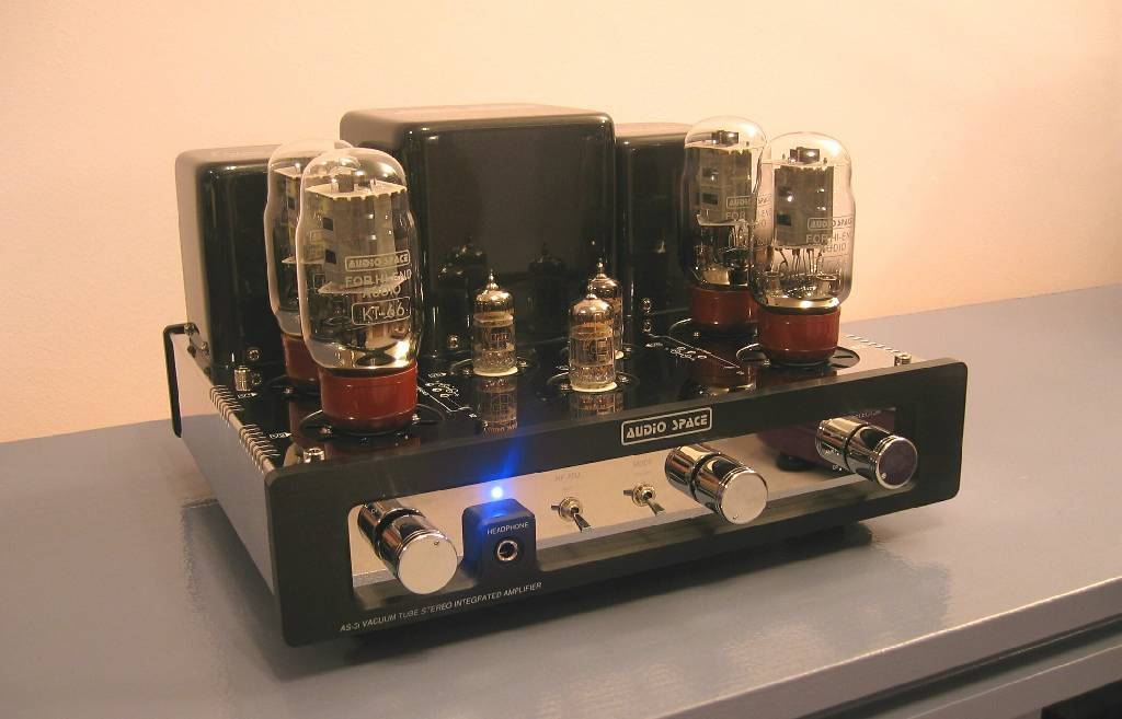 Audio Space AS-3i (KT66) Tube Integrated Amplifier