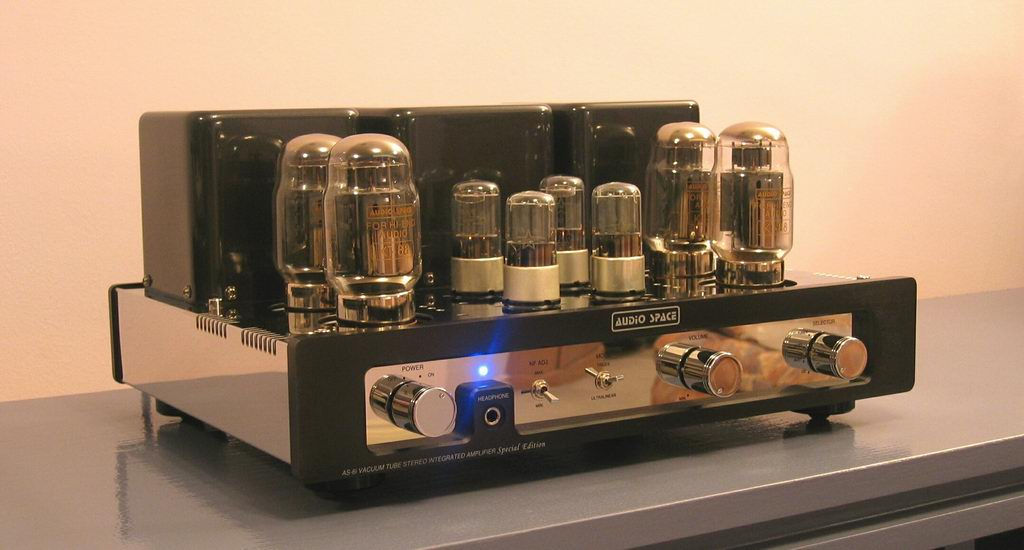 Audio Space AS-6i (KT-88) Tube Integrated Amplifier