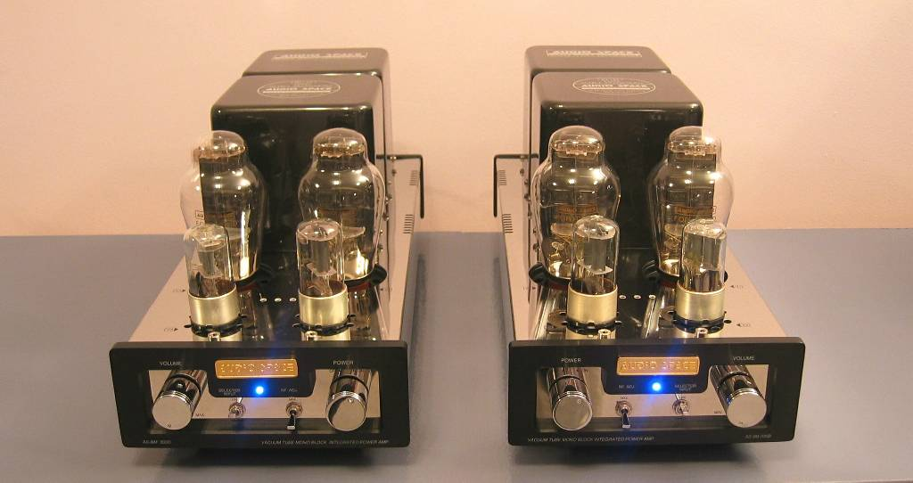 Audio Space AS-6M (300B) P-P Mono Amplifiers