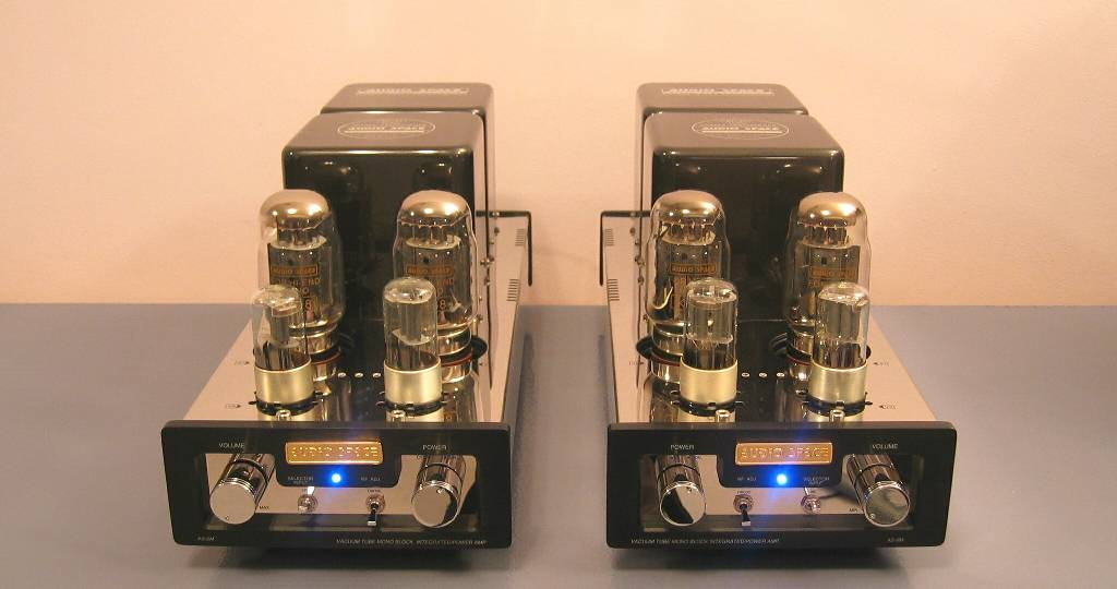 Audio Space AS-6M (KT88) Mono Amplifiers