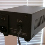 Calyx Audio - CLPS Linear Power Supply, back view