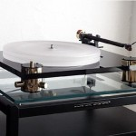 Scheu Analog - Cello Turntable, side view