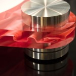 Scheu Analog - Diamond Turntable, red fabric