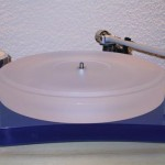 Scheu Analog - Diamond Turntable, in blue