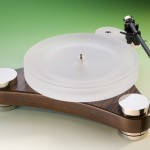 Scheu Analog - Diamond Turntable, in brown