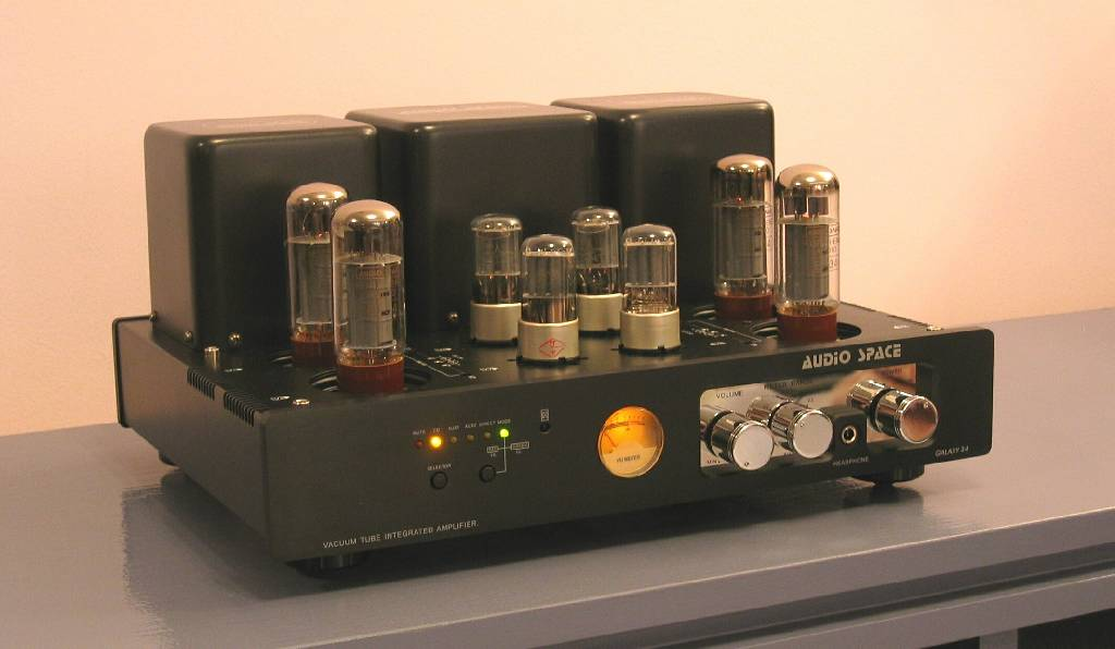 Galaxy 34 Tube Integrated Amplifier Charisma Audio