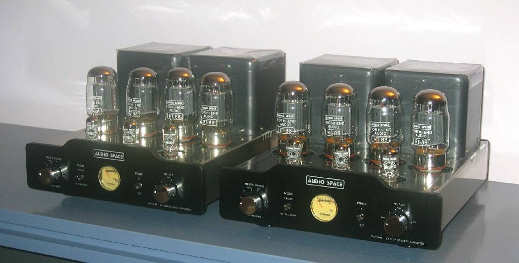 Audio Space NOVA-M88 Mono Amplifiers