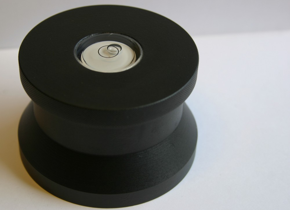 Scheu Analog - Disc Weight with Spirit Level
