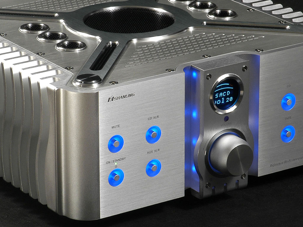 Shanling - A 500 Export Edition Amplifier