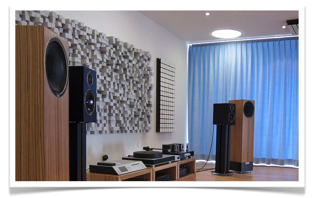 Vicoustic - Multifuser DC2, listening room